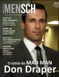 Jon Hamm on the cover of Mensch (Brazil) - October 2010