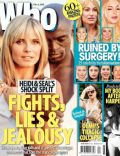 Heidi Klum, Seal on the cover of Who (Australia) - February 2012