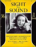 Bette Davis on the cover of Sight and Sound (United Kingdom) - June 1951