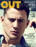 Channing Tatum on the cover of Out (United States) - July 2012