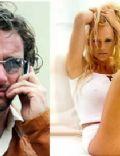 Eddie Irvine and Pamela Anderson