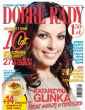 Katarzyna Glinka on the cover of Dobre Rady (Poland) - October 2012