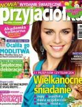 Natasza Urbanska on the cover of Przyjacio Ka (Poland) - March 2013
