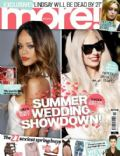 Lady Gaga, Rihanna on the cover of More (United Kingdom) - April 2013