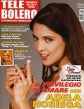 Adela Noriega on the cover of Tele Bolero (Italy) - October 2007