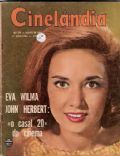 Eva Wilma on the cover of Cinelandia (Brazil) - June 1963