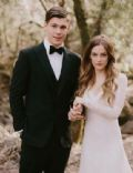 Riley Keough and Ben Smith Petersen