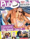 Beyoncé Knowles, Jay-Z on the cover of Public (France) - September 2013
