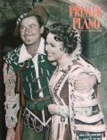 Errol Flynn on the cover of Primer Plano (Spain) - August 1953