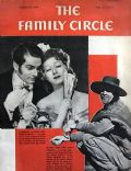 Greer Garson on the cover of Family Circle (United States) - August 1940