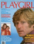Robert Redford on the cover of Playgirl (United States) - December 1980