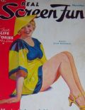 Joan Blondell on the cover of Real Screen Fun (United States) - November 1934
