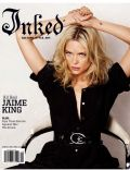 Jaime King on the cover of Inked (United States) - February 2009