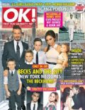 David Beckham, Victoria Beckham on the cover of Ok (United Kingdom) - November 2012