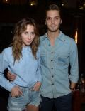 Gillian Zinser and Luke Grimes