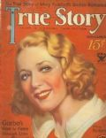 Mary Pickford on the cover of True Story (United States) - November 1933