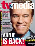 Arnold Schwarzenegger on the cover of Tvmedia (Austria) - October 2012
