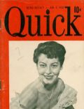 Ava Gardner on the cover of Quick (United States) - January 1950