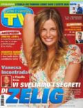 Vanessa Incontrada on the cover of TV Sorrisi E Canzoni (Italy) - October 2007