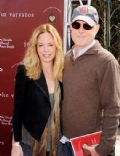 Chandra West and Mark Tinker