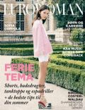 Hanna Sorheim on the cover of Eurowoman (Denmark) - July 2013