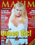 Victoria Silvstedt on the cover of Maxim (United Kingdom) - April 1998