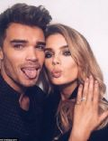 Josh Cuthbert and Chloe Lloyd