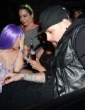 Miley Cyrus and Benji Madden