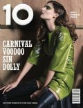 Marie Piovesan on the cover of 10 Magazine (United Kingdom) - June 2014