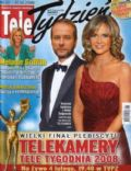 Artur Zmijewski, Grazyna Torbicka on the cover of Tele Tydzie (Poland) - February 2008