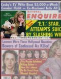 Cher, Drew Barrymore, Madonna on the cover of National Enquirer (United States) - July 1985