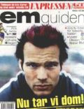 Fredrik Ljungberg on the cover of Other (Sweden) - 2002