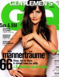 Helena Christensen on the cover of Gq (Germany) - February 2003