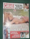 Nicole Neumann on the cover of Caras (Argentina) - February 2005