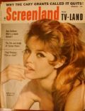 Brigitte Bardot on the cover of Screenland (United States) - March 1959