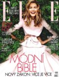 Michaela Kocianova on the cover of Elle (Czech Republic) - October 2012