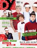 Demi Lovato, Harry Styles, Justin Bieber, Liam Payne, Louis Tomlinson, Miley Cyrus, Niall Horan, Zayn Malik on the cover of Dream You (Turkey) - December 2012