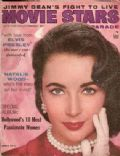 Elizabeth Taylor on the cover of Movie Stars (United States) - February 1957