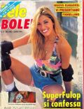 Catherine Fulop on the cover of Tele Bolero (Italy) - July 1994