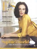 Sophie Ellis-Bextor on the cover of Es Magazine (United Kingdom) - February 2007