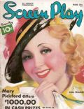 Joan Blondell on the cover of Screen Play (United States) - March 1936