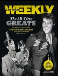 Elvis Presley, Prince on the cover of Las Vegas Weekly (United States) - December 2012