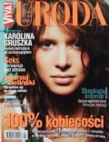 Karolina Gruszka on the cover of Uroda (Poland) - October 2003