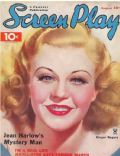 Ginger Rogers on the cover of Screen Play (United States) - August 1935