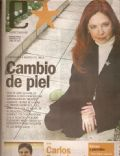 Andrea Del Boca on the cover of Clarin (Argentina) - June 2007