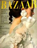 Cathee Dahmen on the cover of Harpers Bazaar (United Kingdom) - May 1968