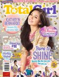 Kathryn Bernardo on the cover of Total Girl (Philippines) - August 2013