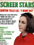 Elizabeth Taylor on the cover of Screen Stars (United States) - February 1964
