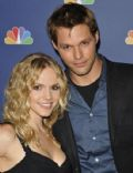 Alexa Havins and Justin Bruening