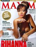 Rihanna on the cover of Maxim (Germany) - September 2007